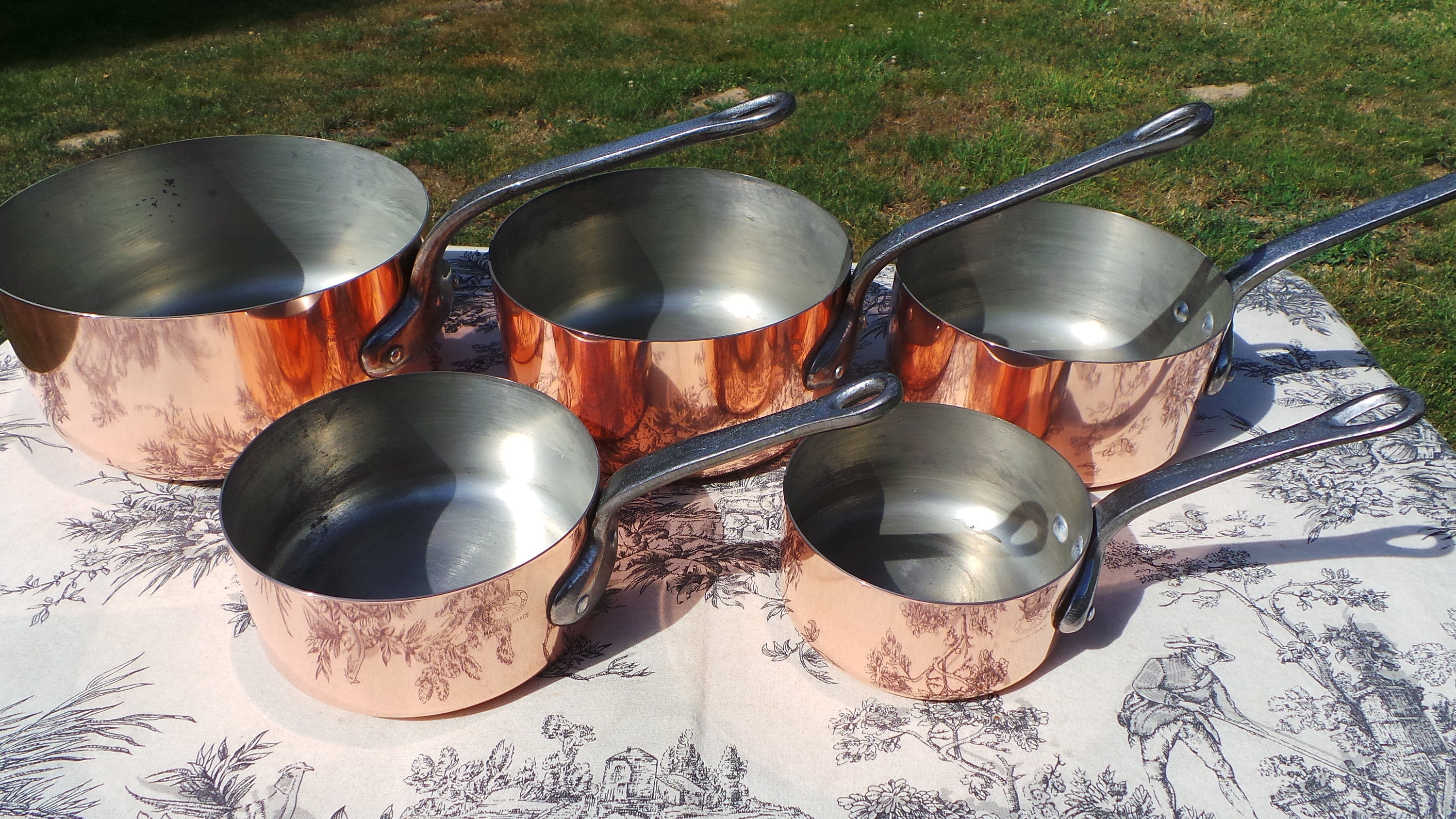 1mm Tin Lined Pans - Fabulous Domestic Pans