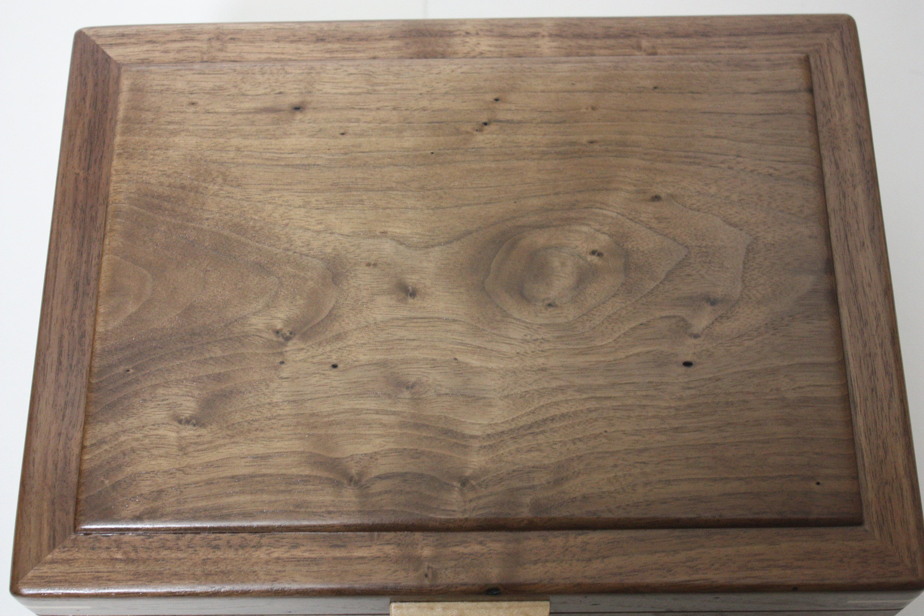 Walnut Locking Box For Sale