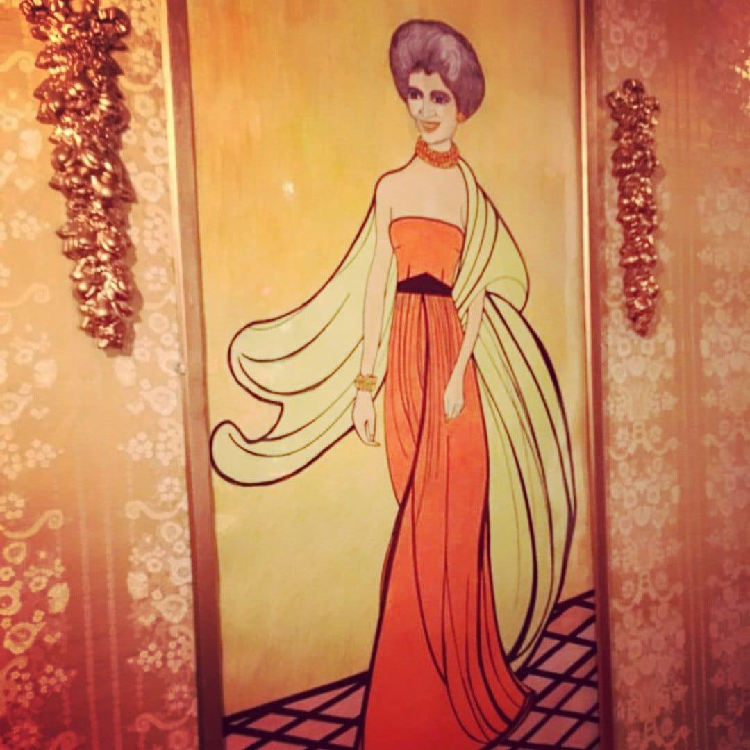Fashion Sketch of Letizia Fuhr
