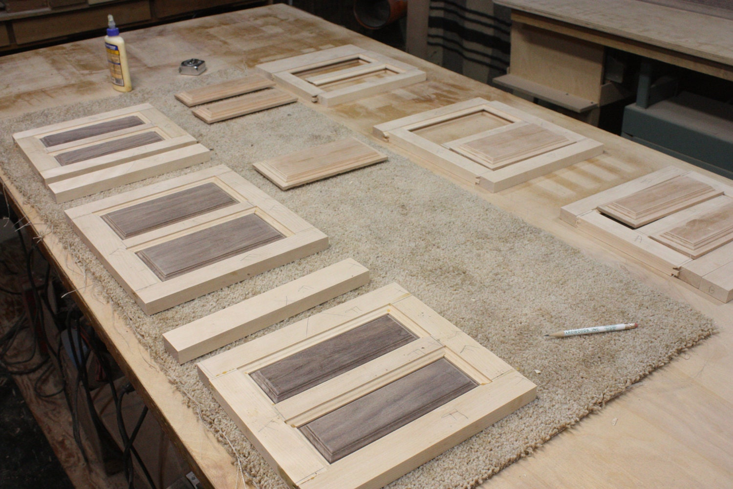 Raised Panel Sides for Jewelry Boxes