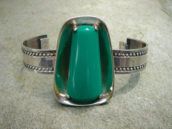 Mexican Silver, Taxco Silver Bracelet