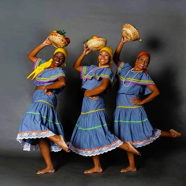 Culture les costumes traditionnels d ha ti et des cara bes - Princesse qui danse ...