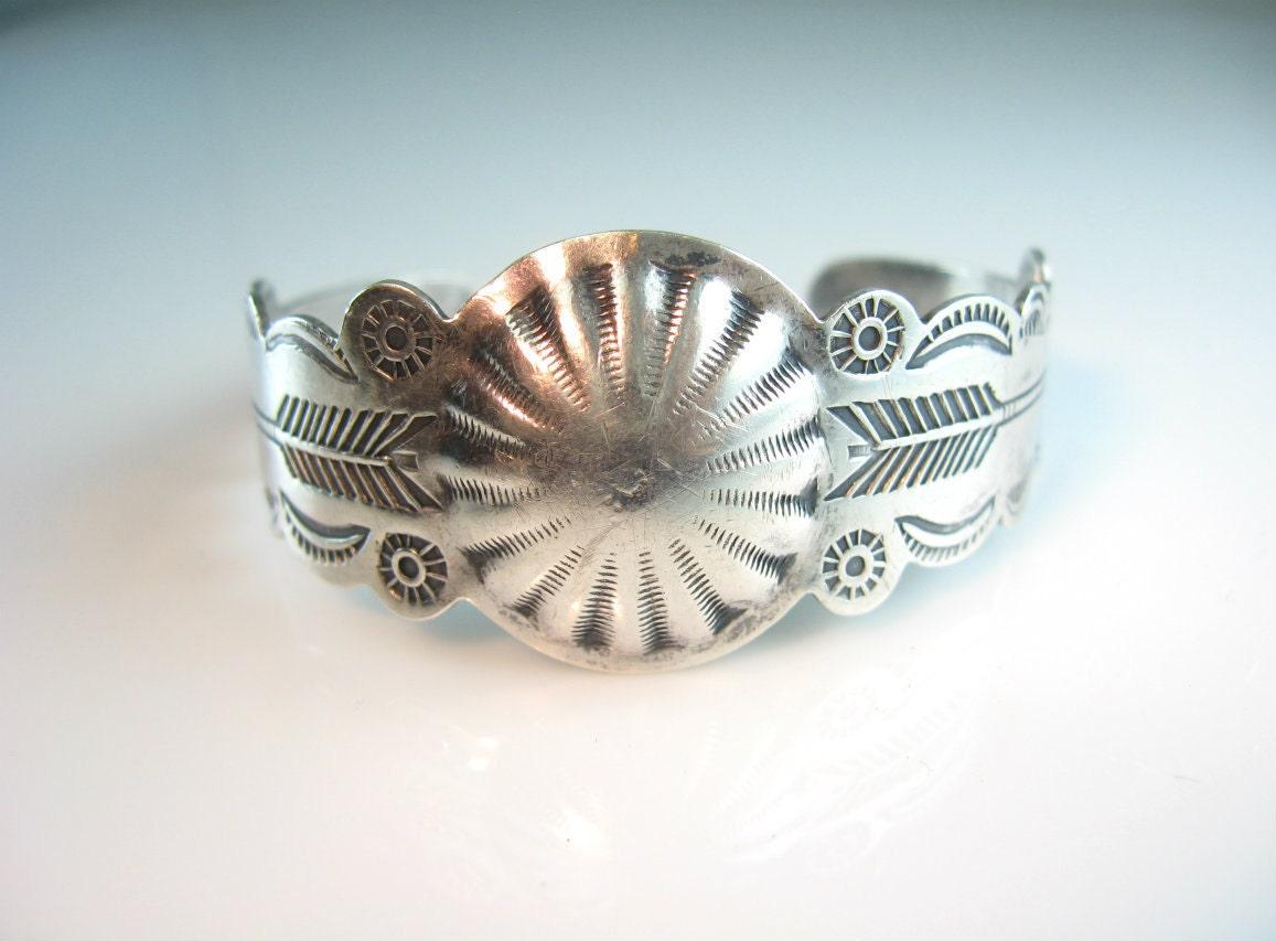 Silver Arrow sterling silver cuff bracelet