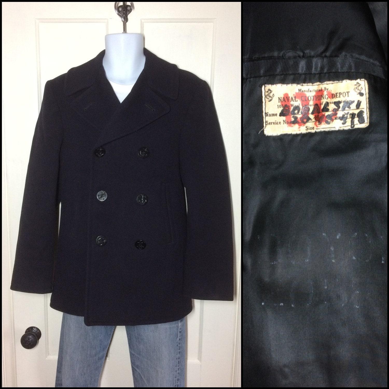 Korean War pea coat