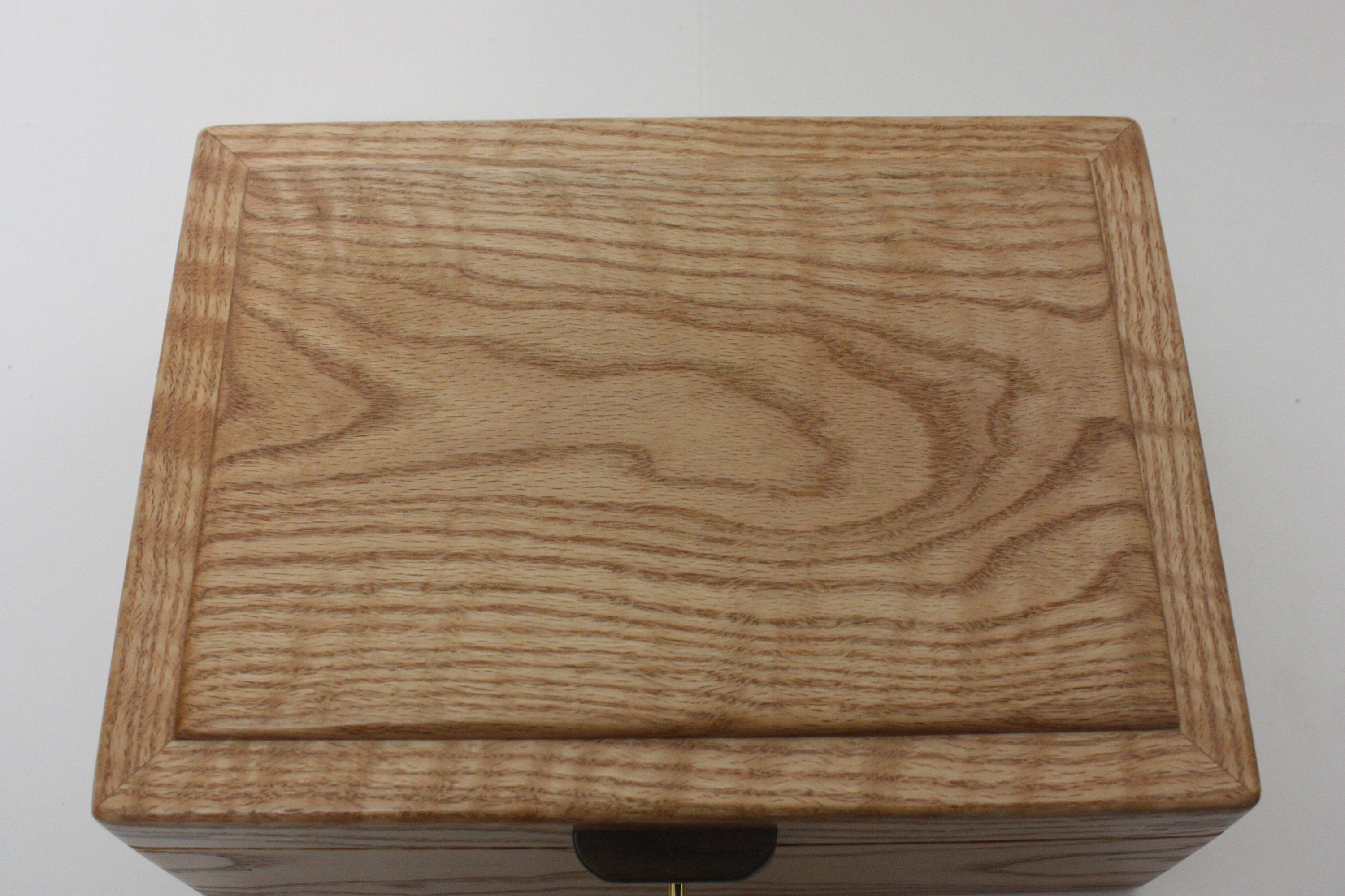 Curly Red Oak Box