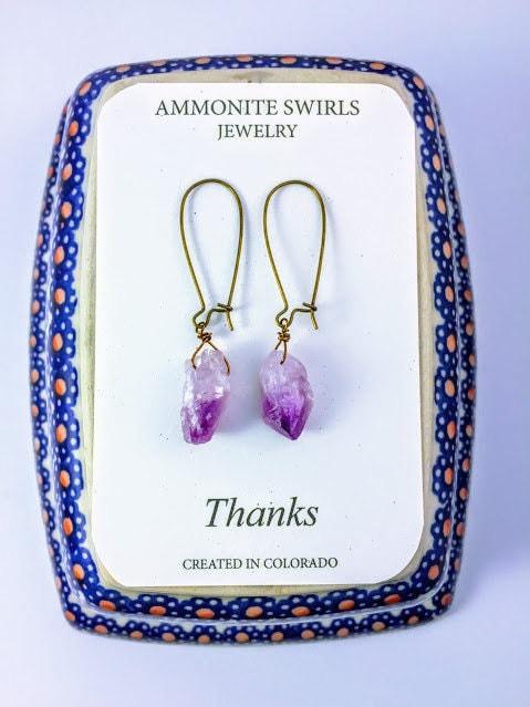 https://ammoniteswirls.patternbyetsy.com/listing/496339288/amethyst-crystal-earrings-natural