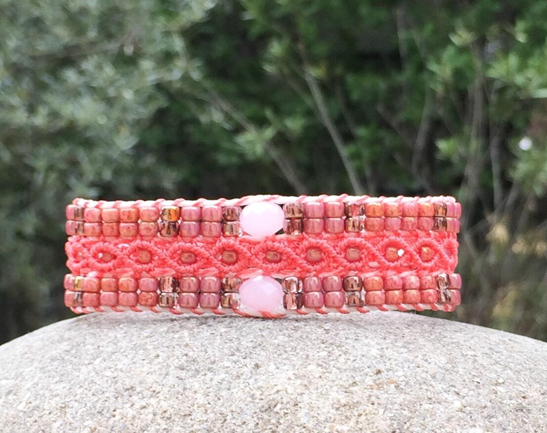 Bracelet LAixois vieux rose