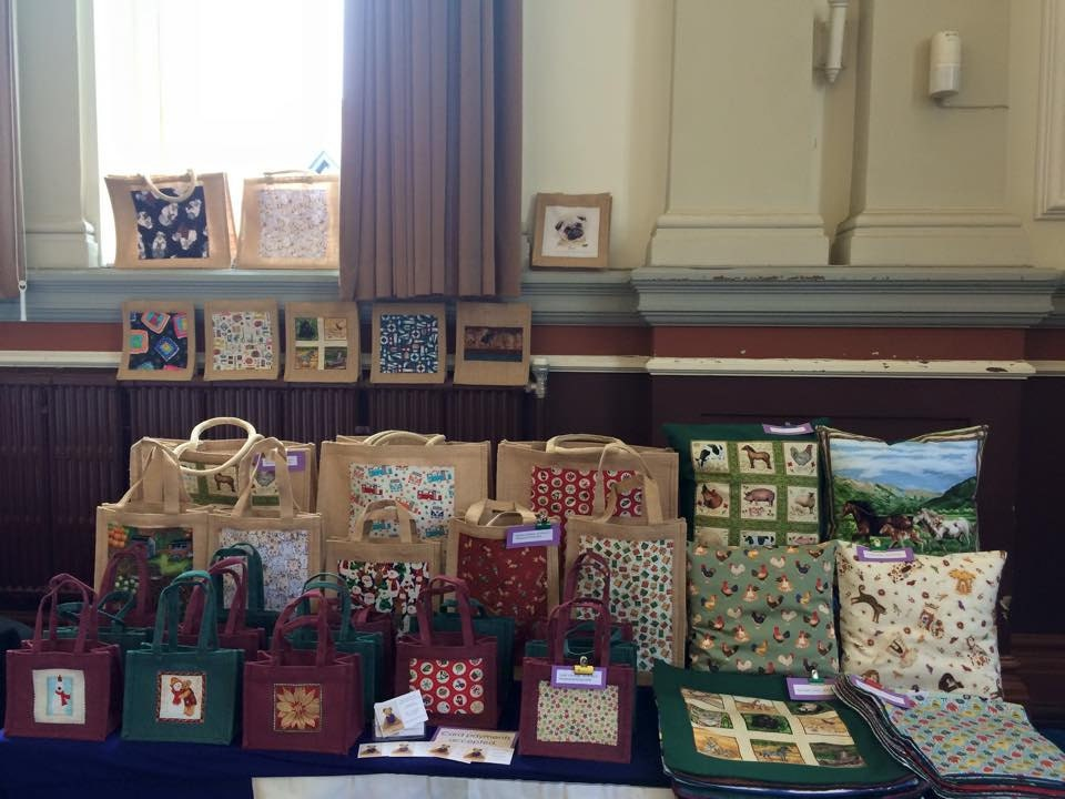 Our stall at Save the Children at Leamington last year