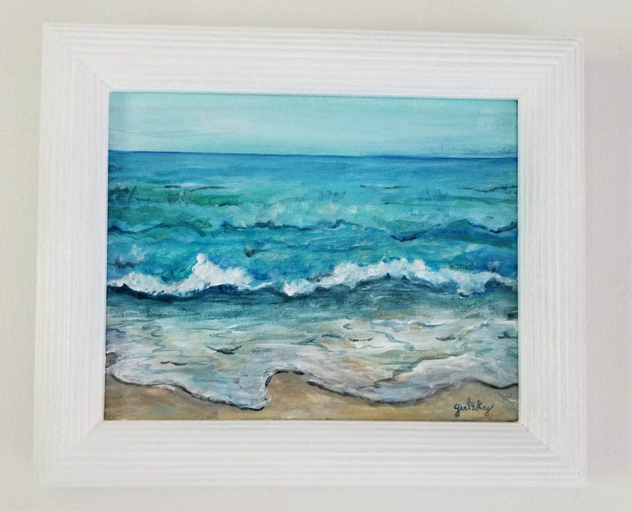 Escape Ocean painting
