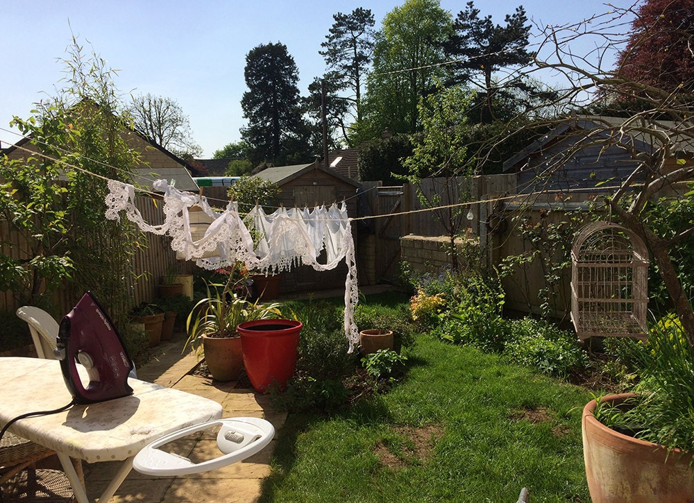 marys orchard linen and lace ironing
