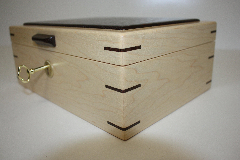 Maple Locking Box