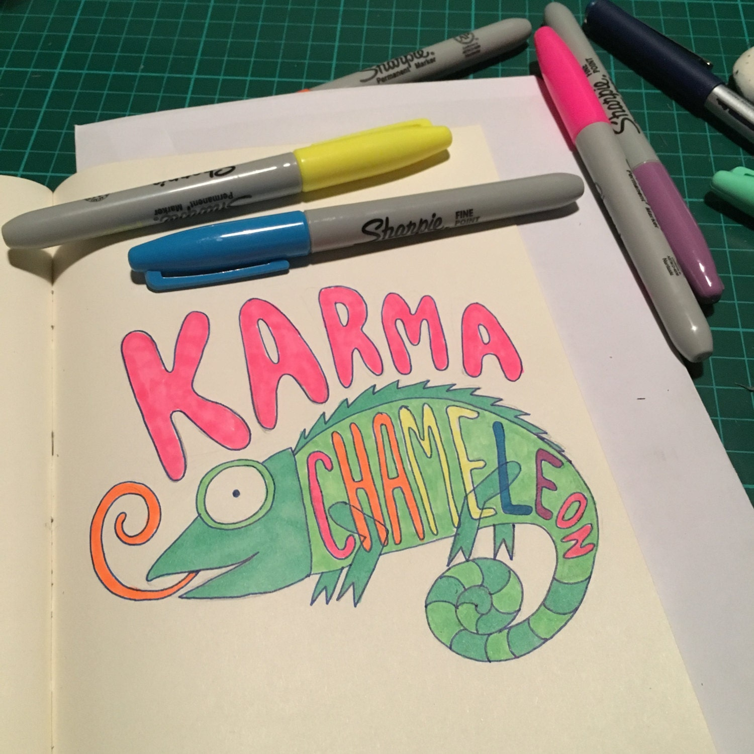 Karma Chameleon colour