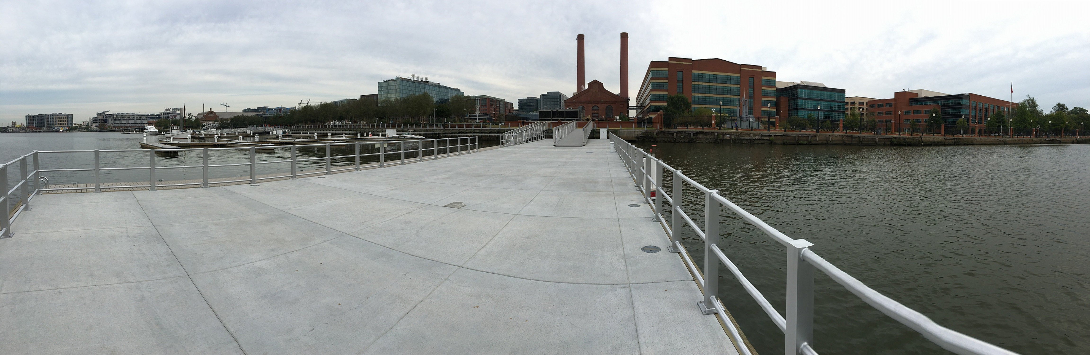 On the Anacostia River at The Navy Yard