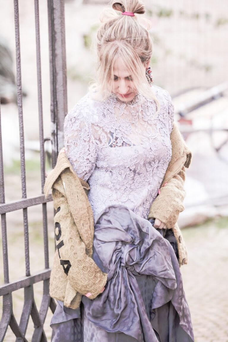 Lola Darling Dress Angela Pavese Blogger and Model Ph Niccolò Barone