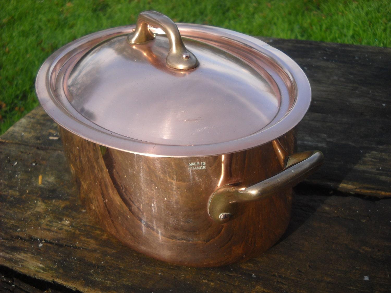 A lovely Villedieu Cocotte, Dutch Oven or Casserole Dish