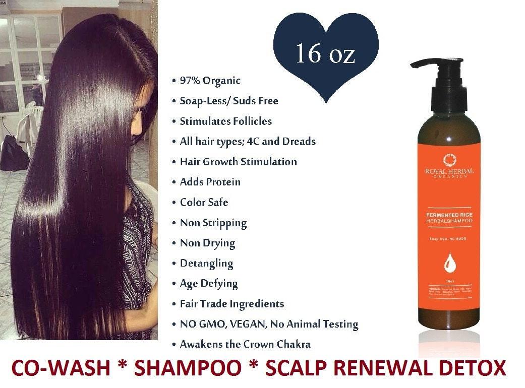Royal Herbal Organics Fermented Rice Shampoo
