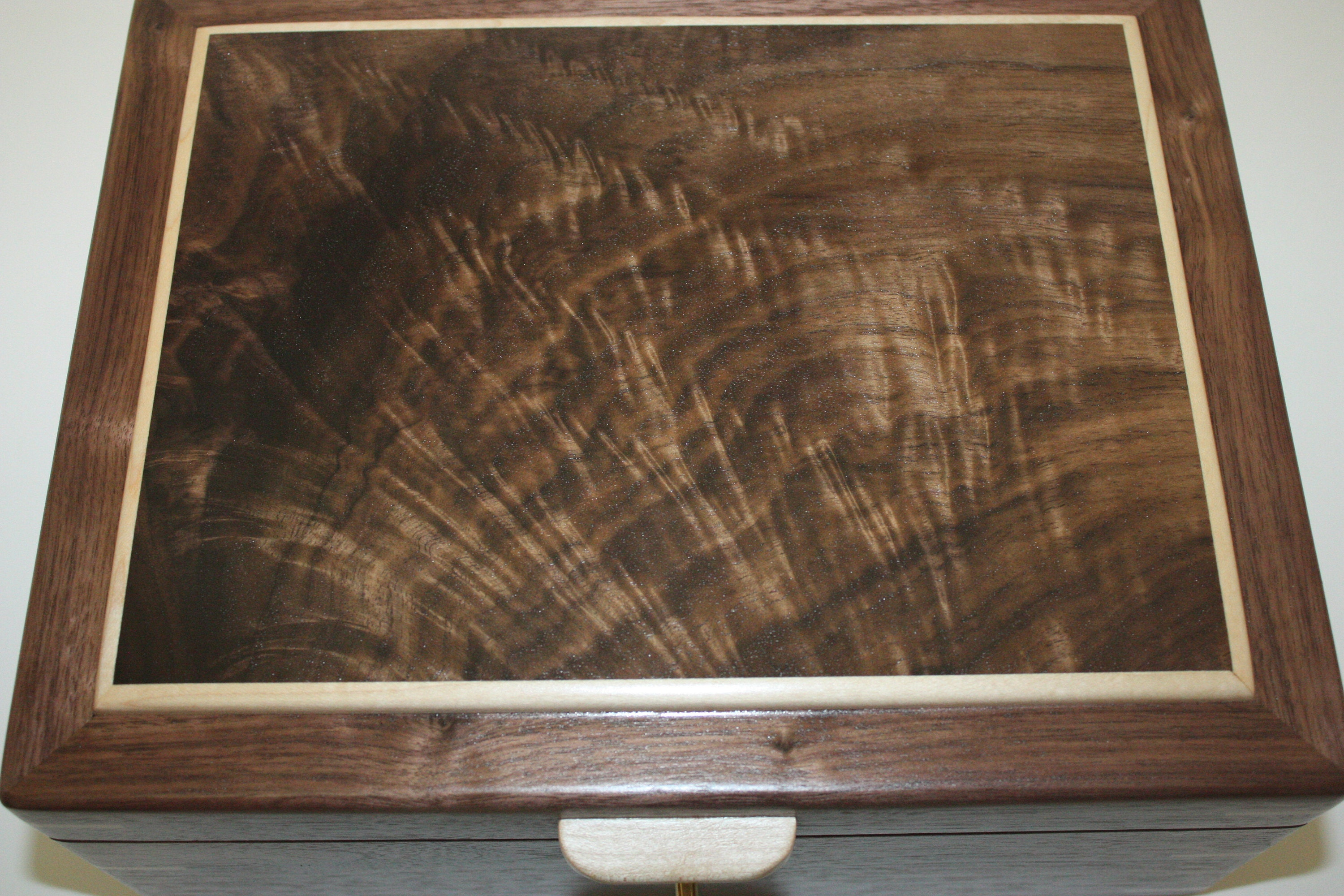Black Walnut Wooden Box