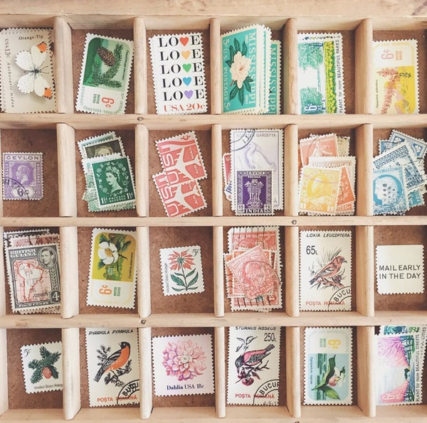 Top 5 Shops for Vintage Wedding Invitation Postal Stamps