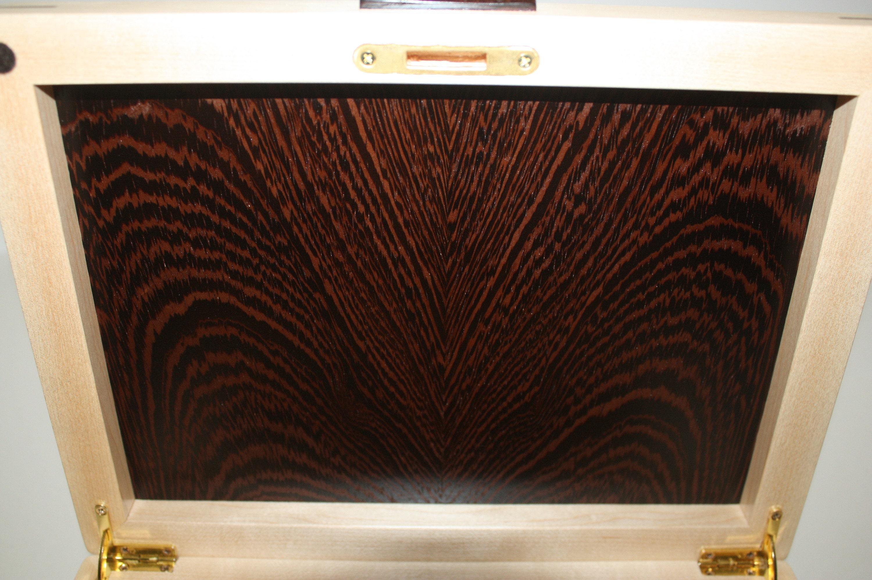 Bookmatched Plain Sliced Wenge Wood