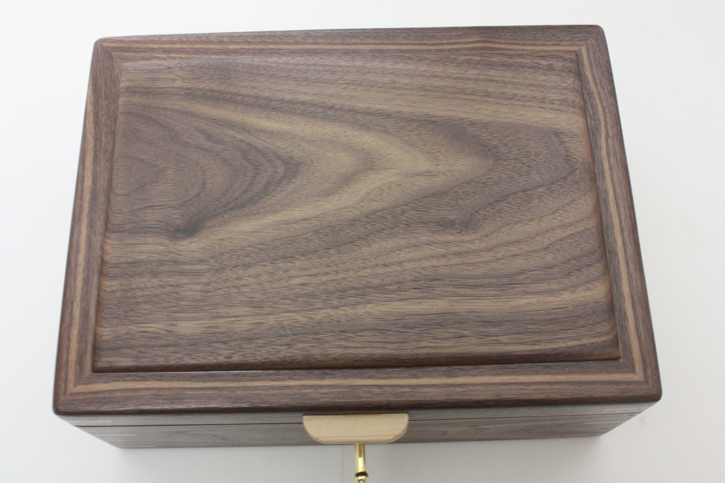 Black Walnut Wood Box
