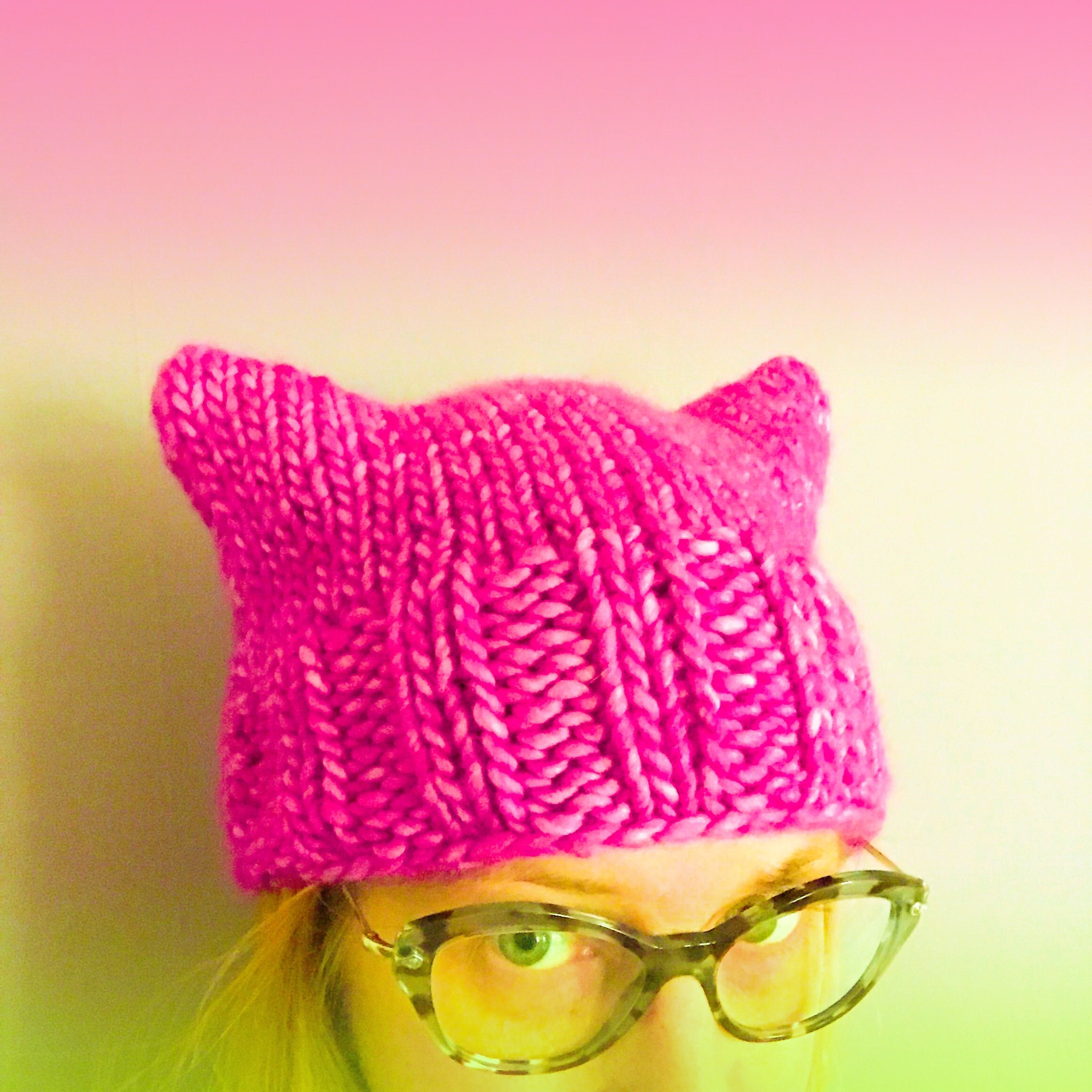 pink power hat