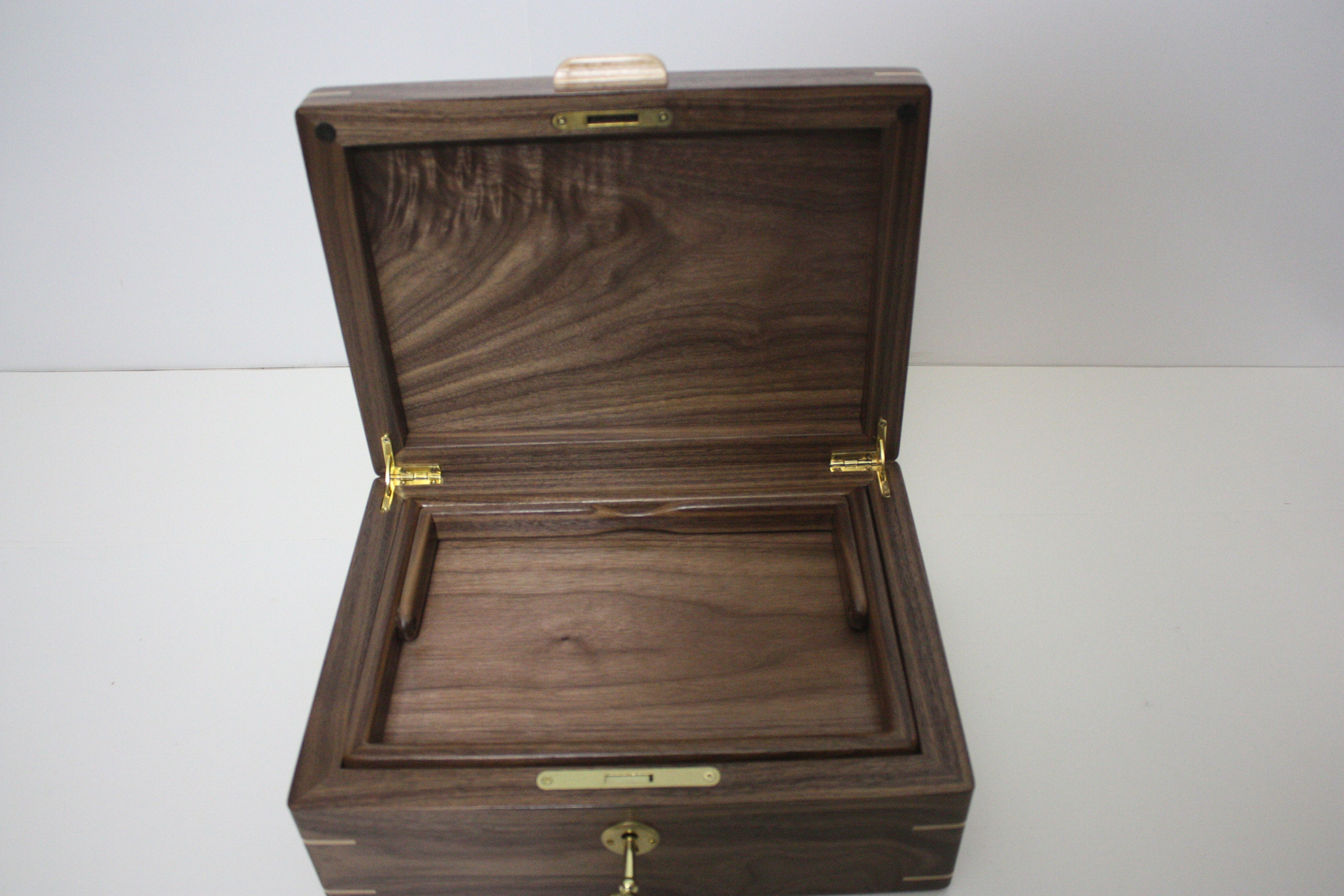 Walnut Box with Lift Out Tray