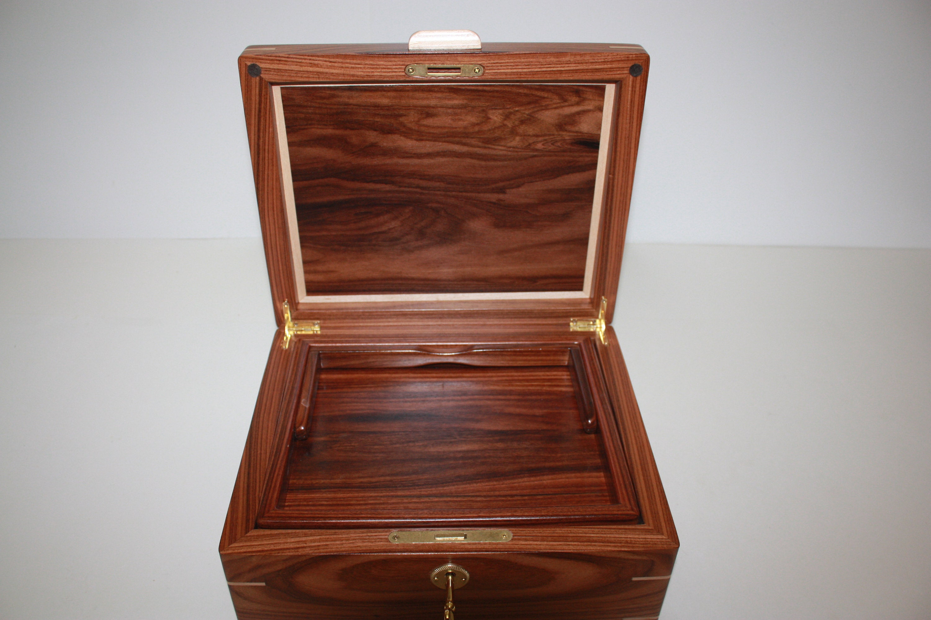 Handmade Keepsake Wood Box