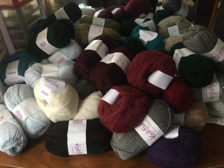 KnitPicks yarn shippment