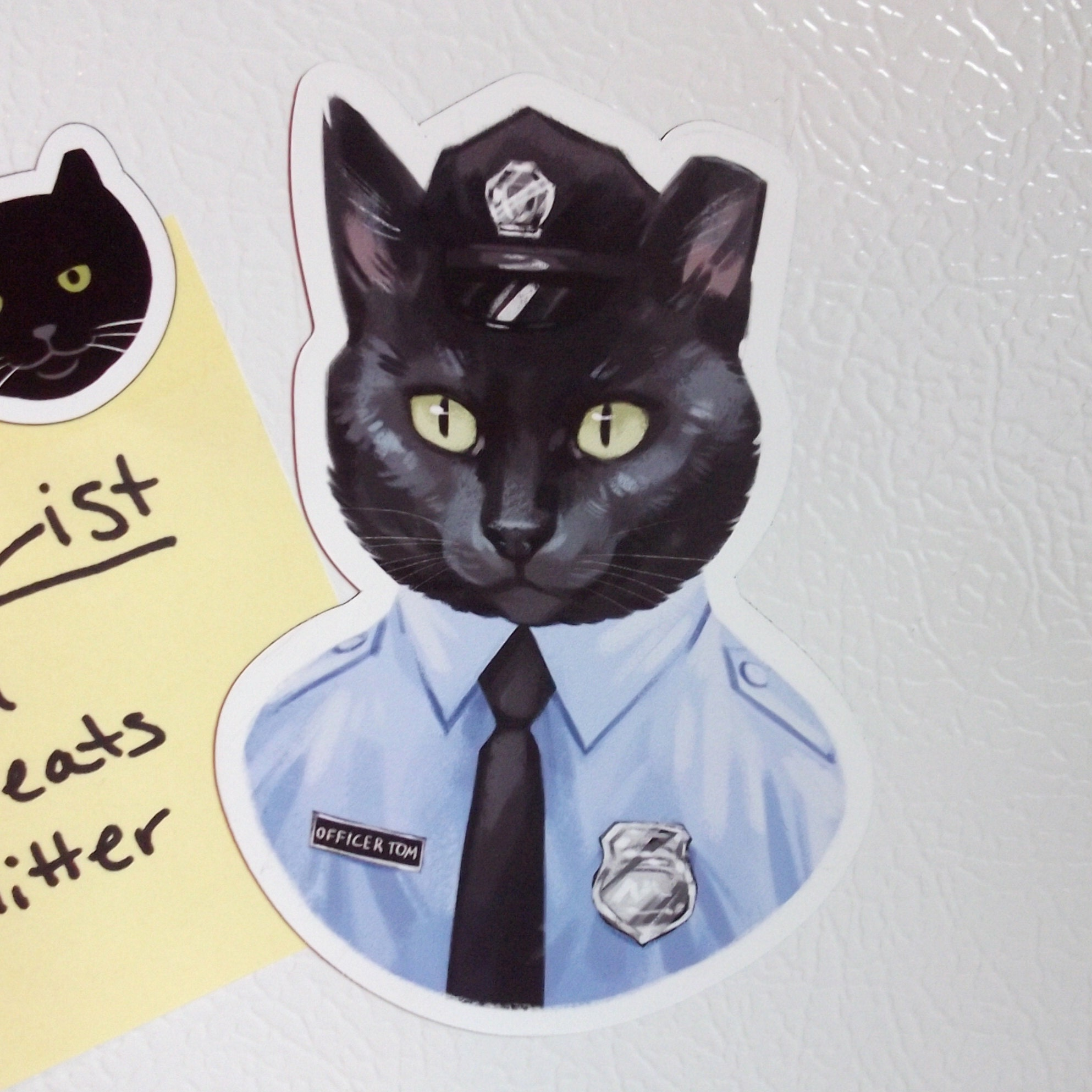 Officer Tom magnets