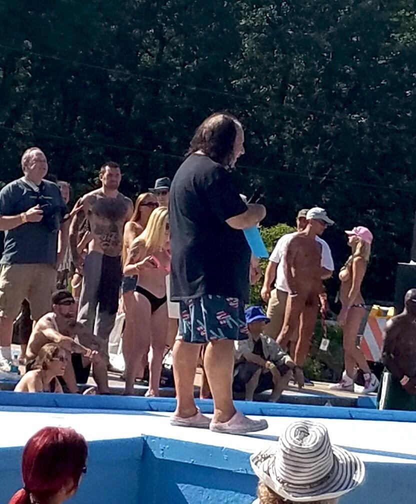 Ron Jeremy @ Nudes A Poppin 2017
