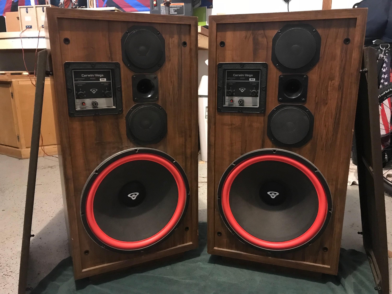 Cerwin Vega D-9 Speakers