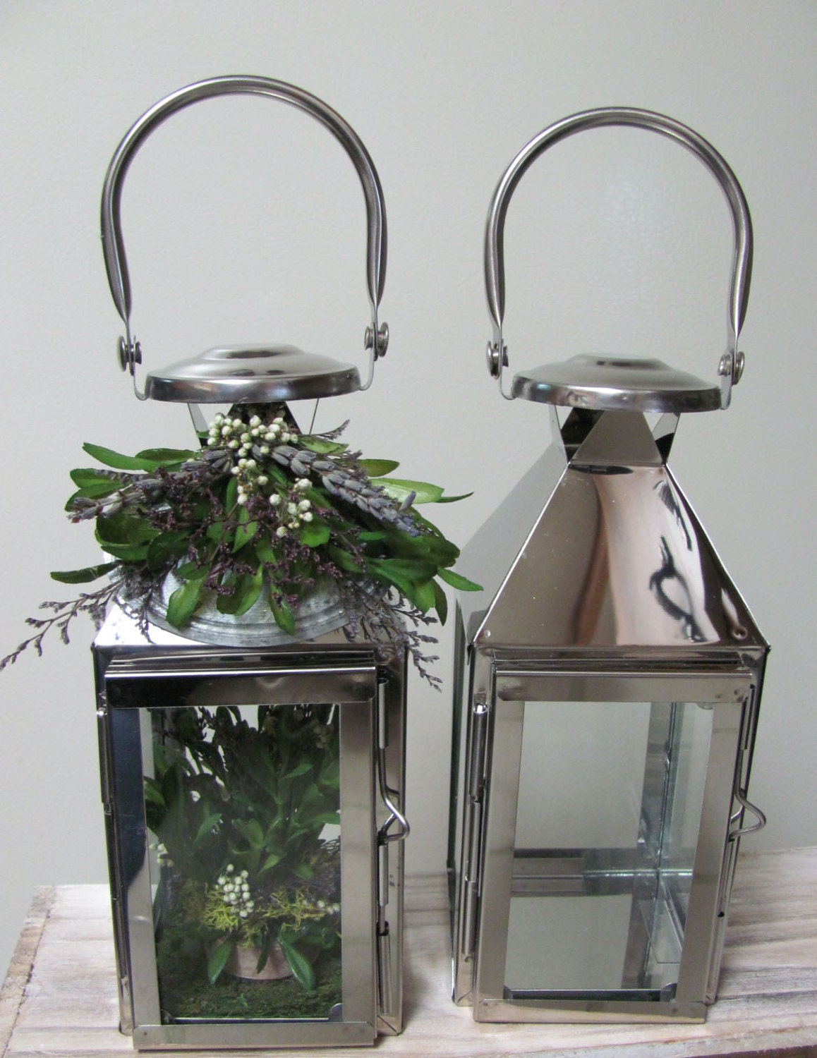 Small Lanterns that Hang Used At Weddings for Ceremony or Reception Decor