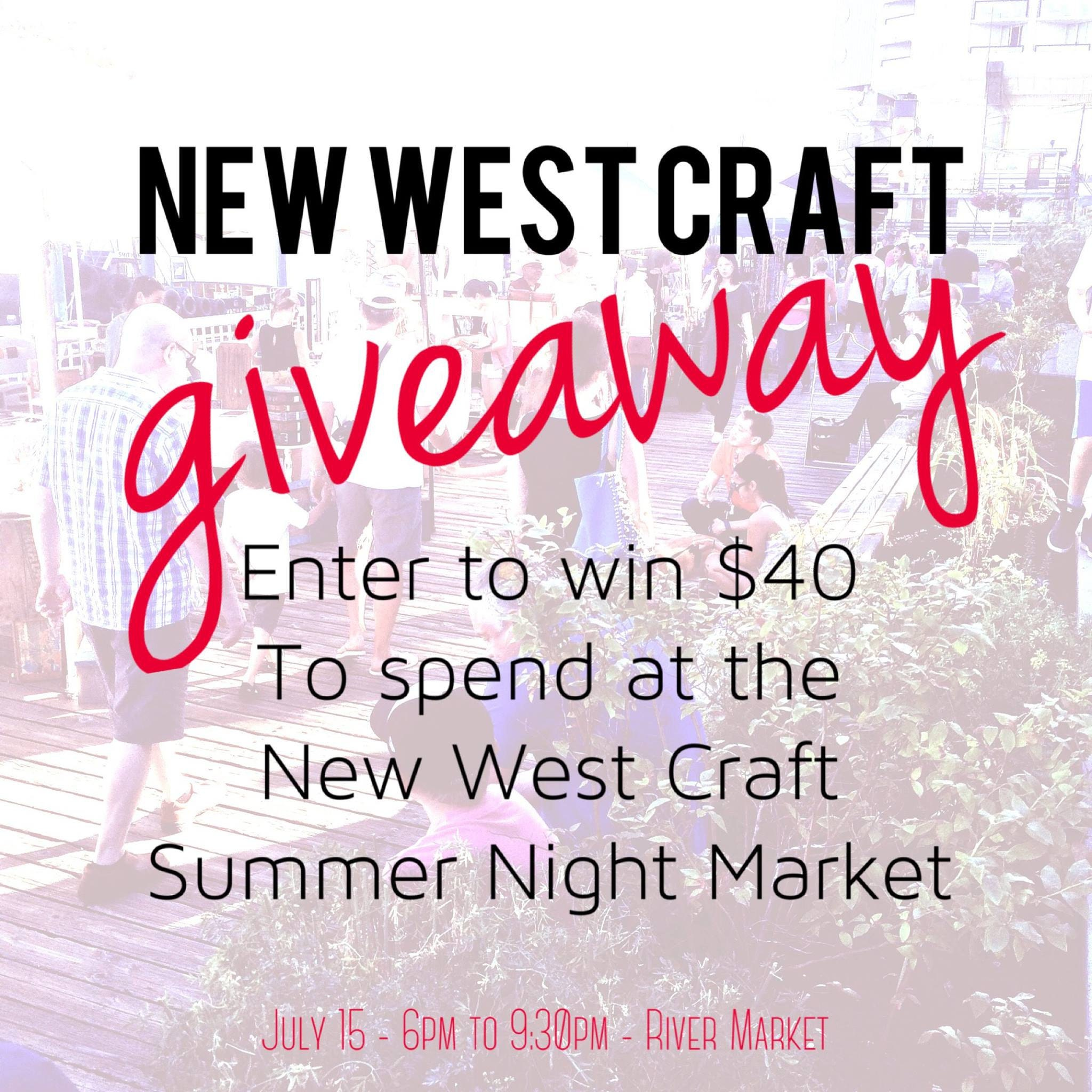 $40 Giveaway for Summer Night Market