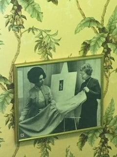 Photograph of Letizia Fuhr Teaching About Dress Design