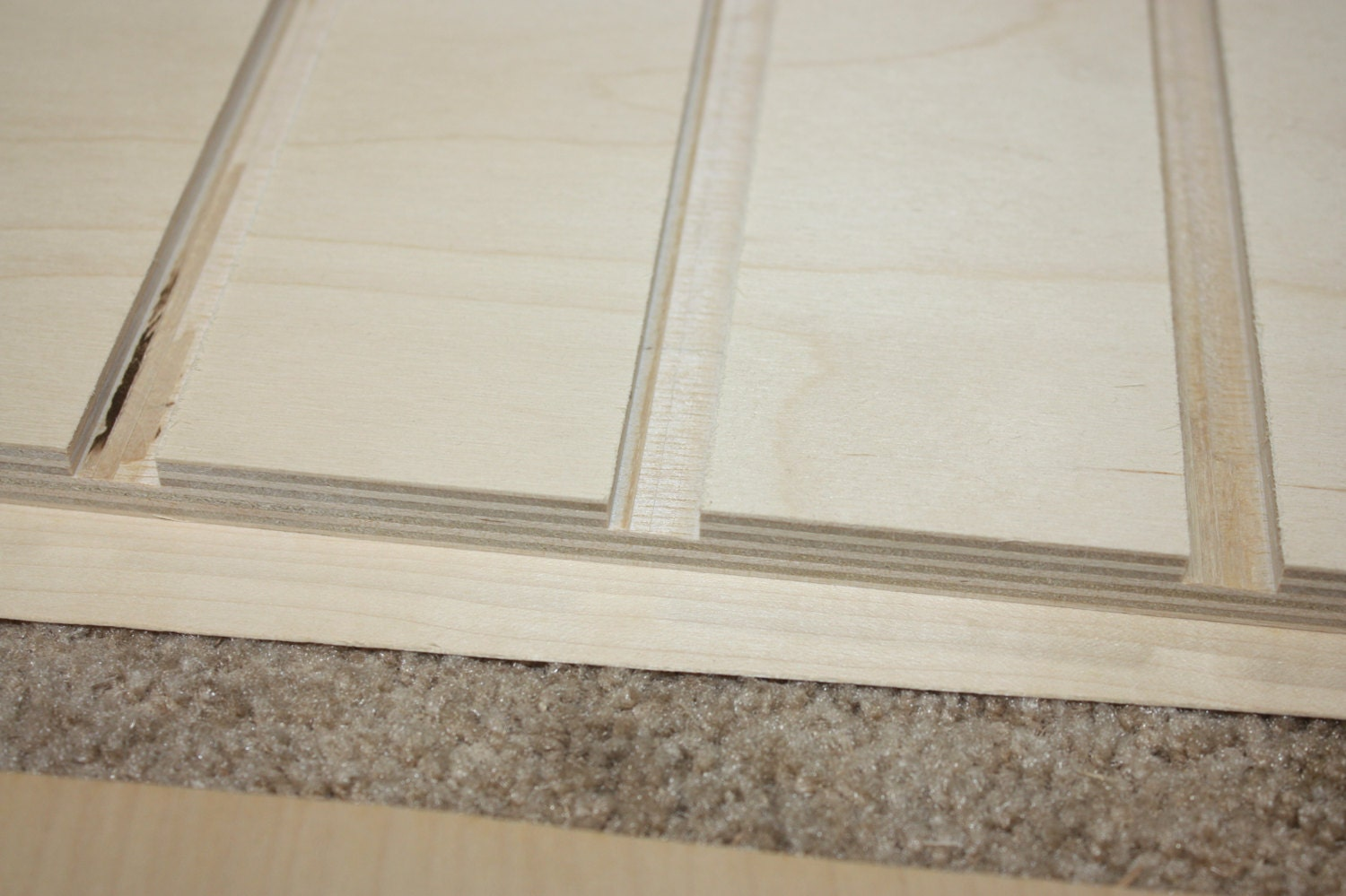 Dado in 9 ply Baltic Birch Plywood for Jewelry Box
