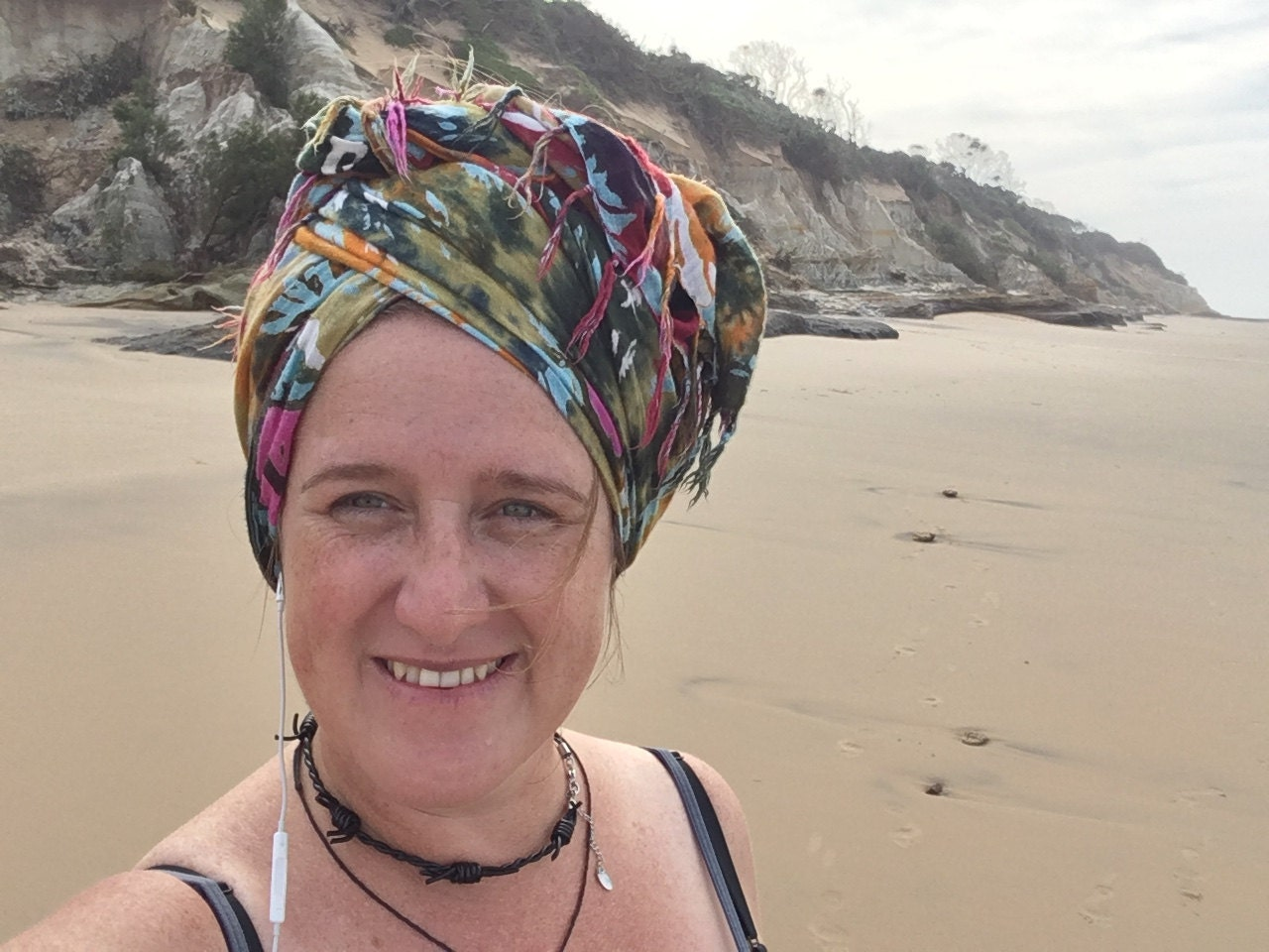 On the beach in Africa - warm Indian Ocean - warm heart!