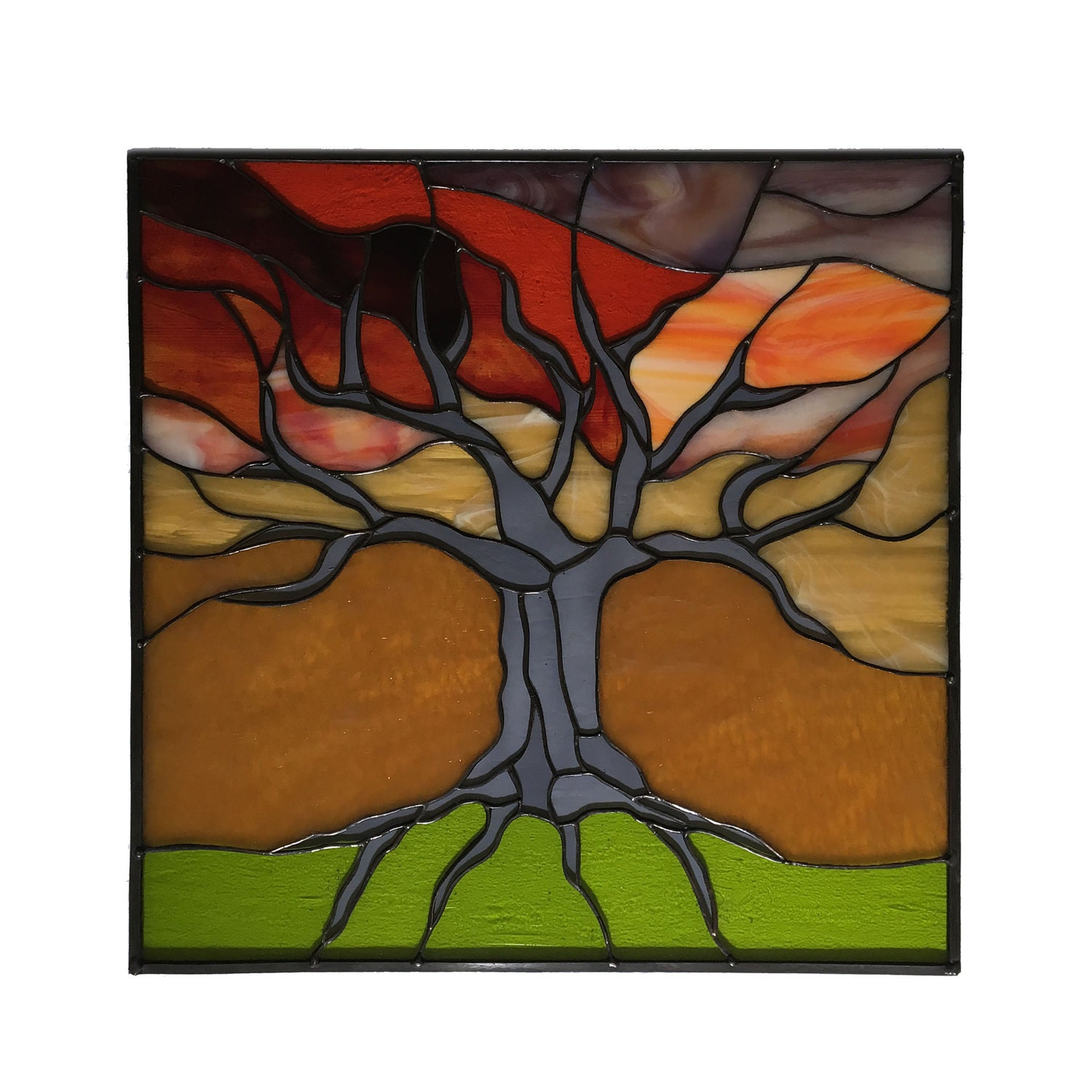Tree of Life at Sunset 18x18