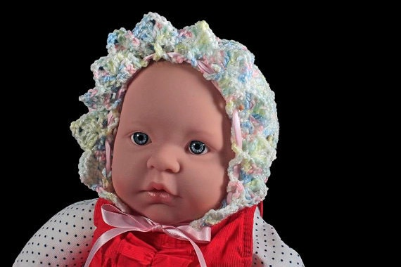 baby bonnet mulitcolored