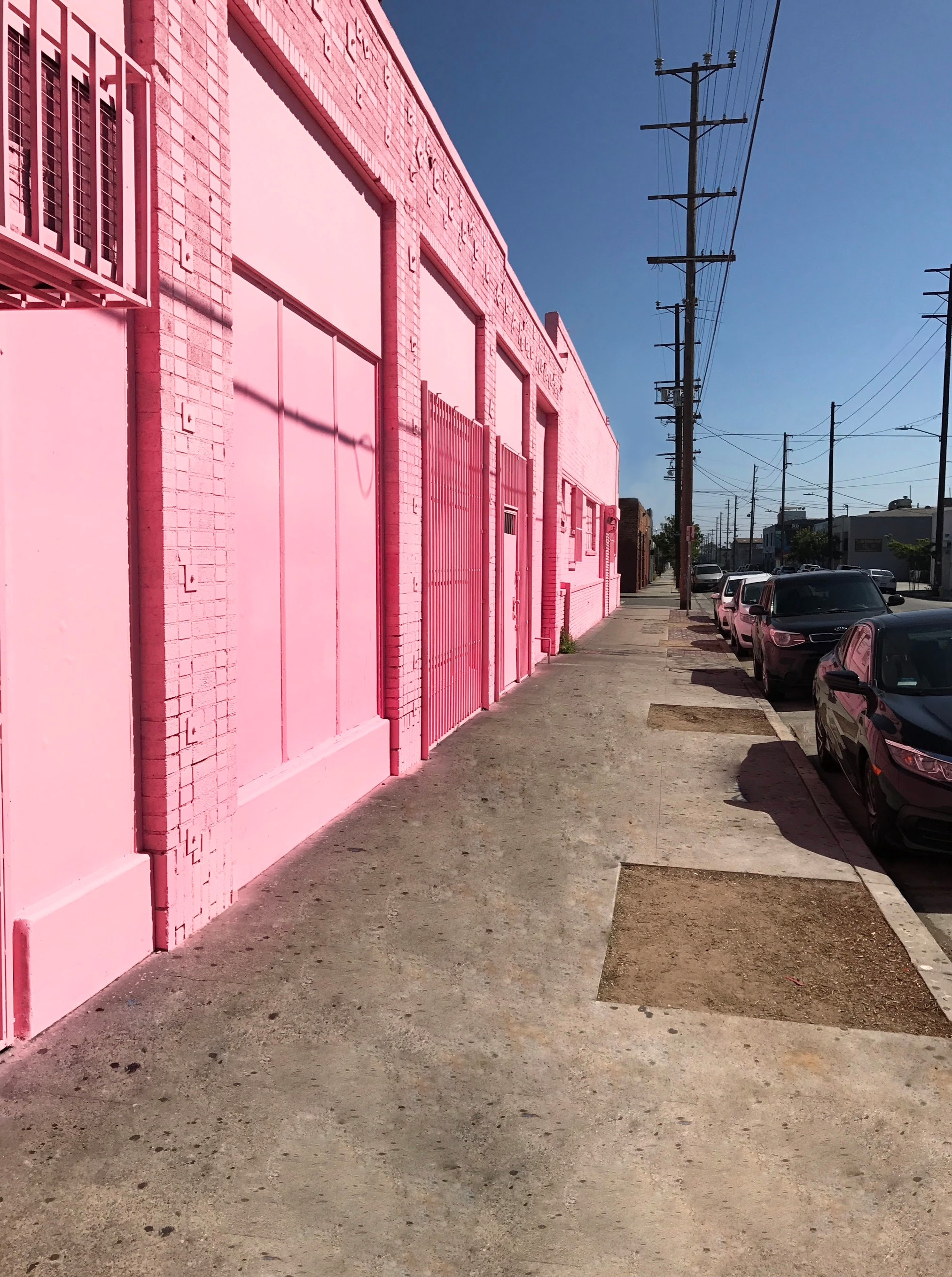 Pinkest Warehouse in Dowtown LA