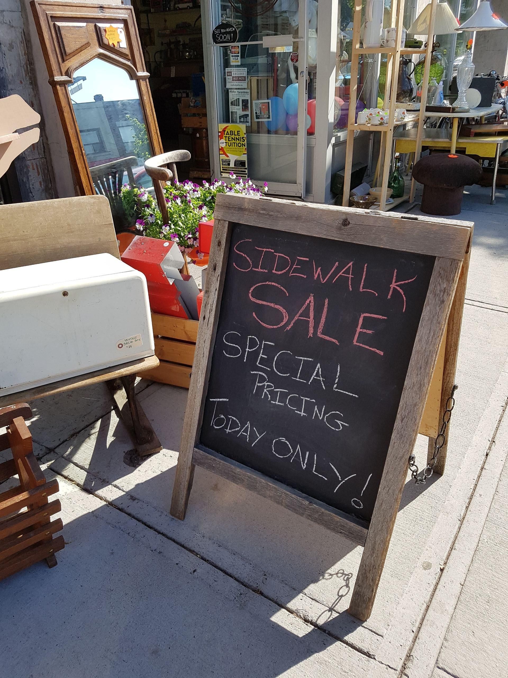 2017 Sidewalk Sale