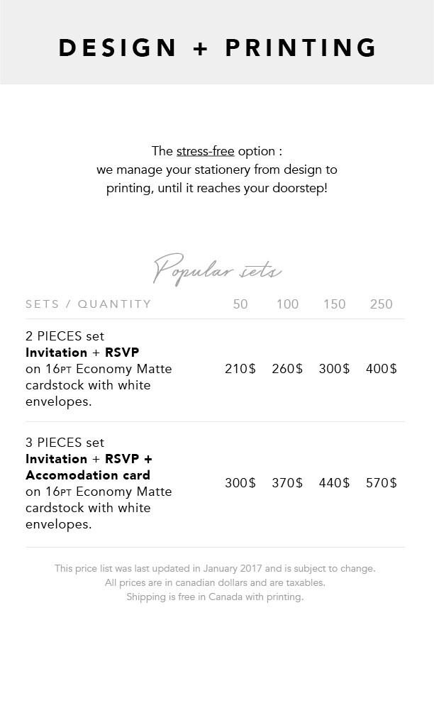 Design + Printing