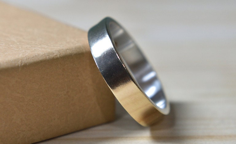 Gold 9k Wedding Band