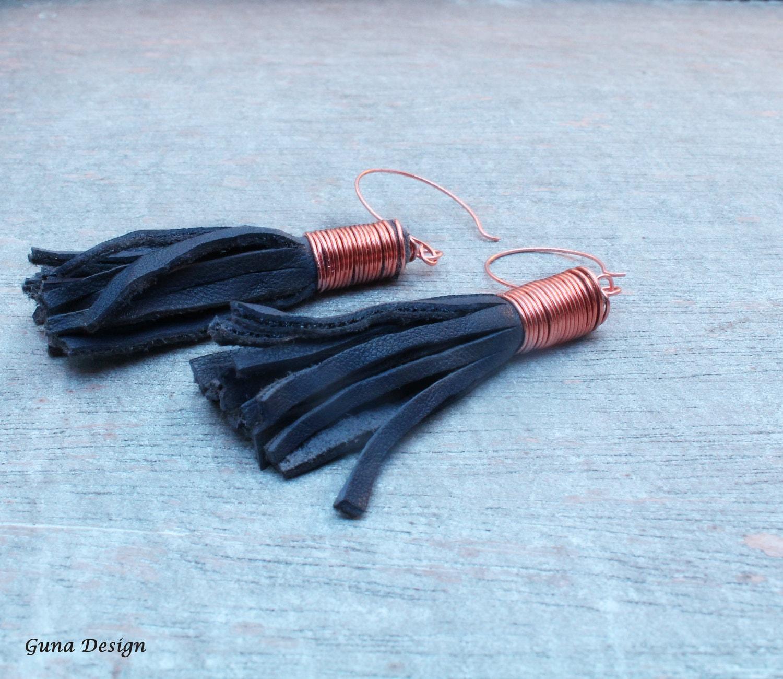 gunadesign tassel earrings