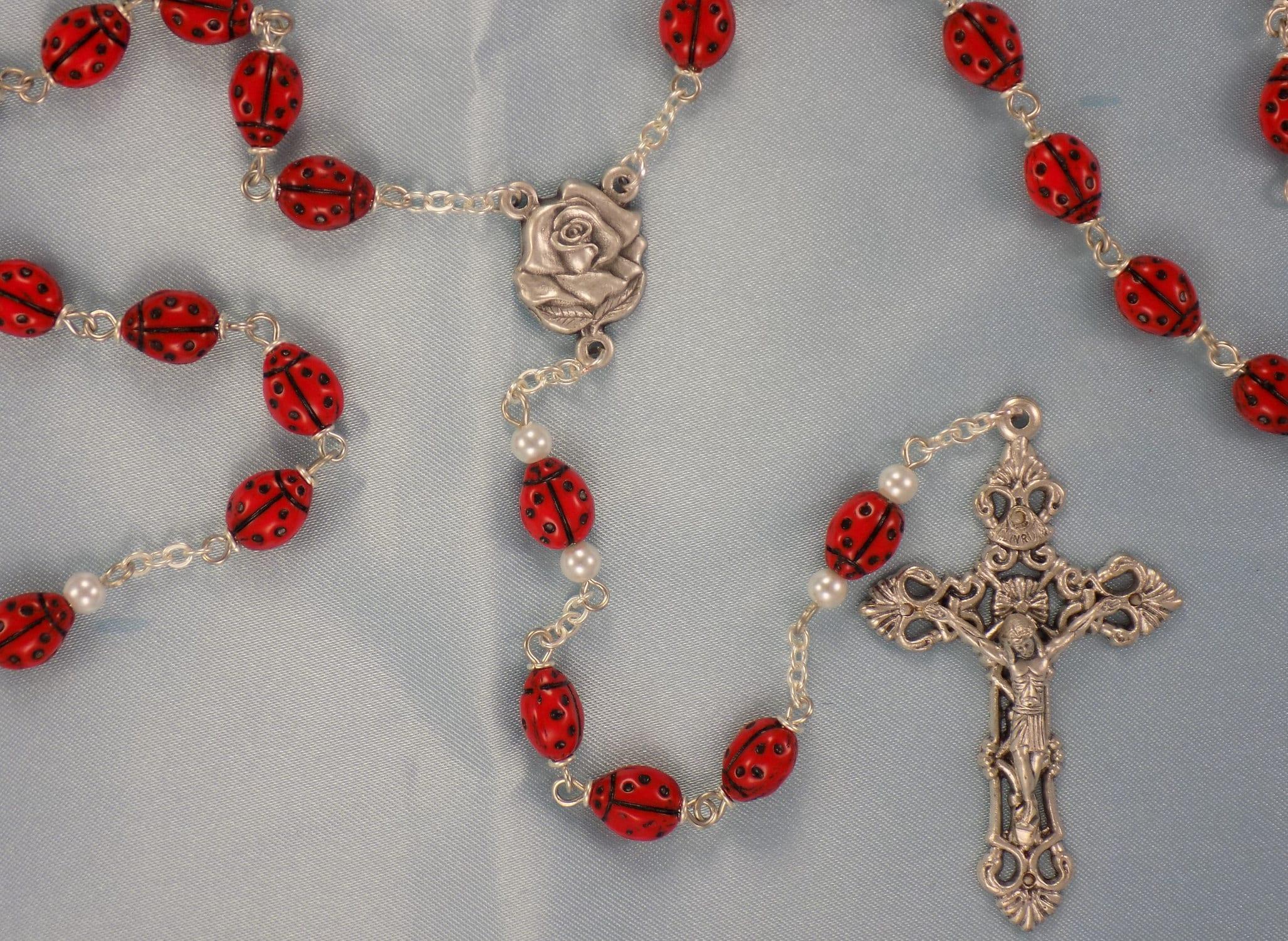 Ladybug Rosary