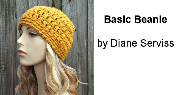 30 Minute Basic Beanie A Free Crochet Pattern Using Super Bulky Yarn