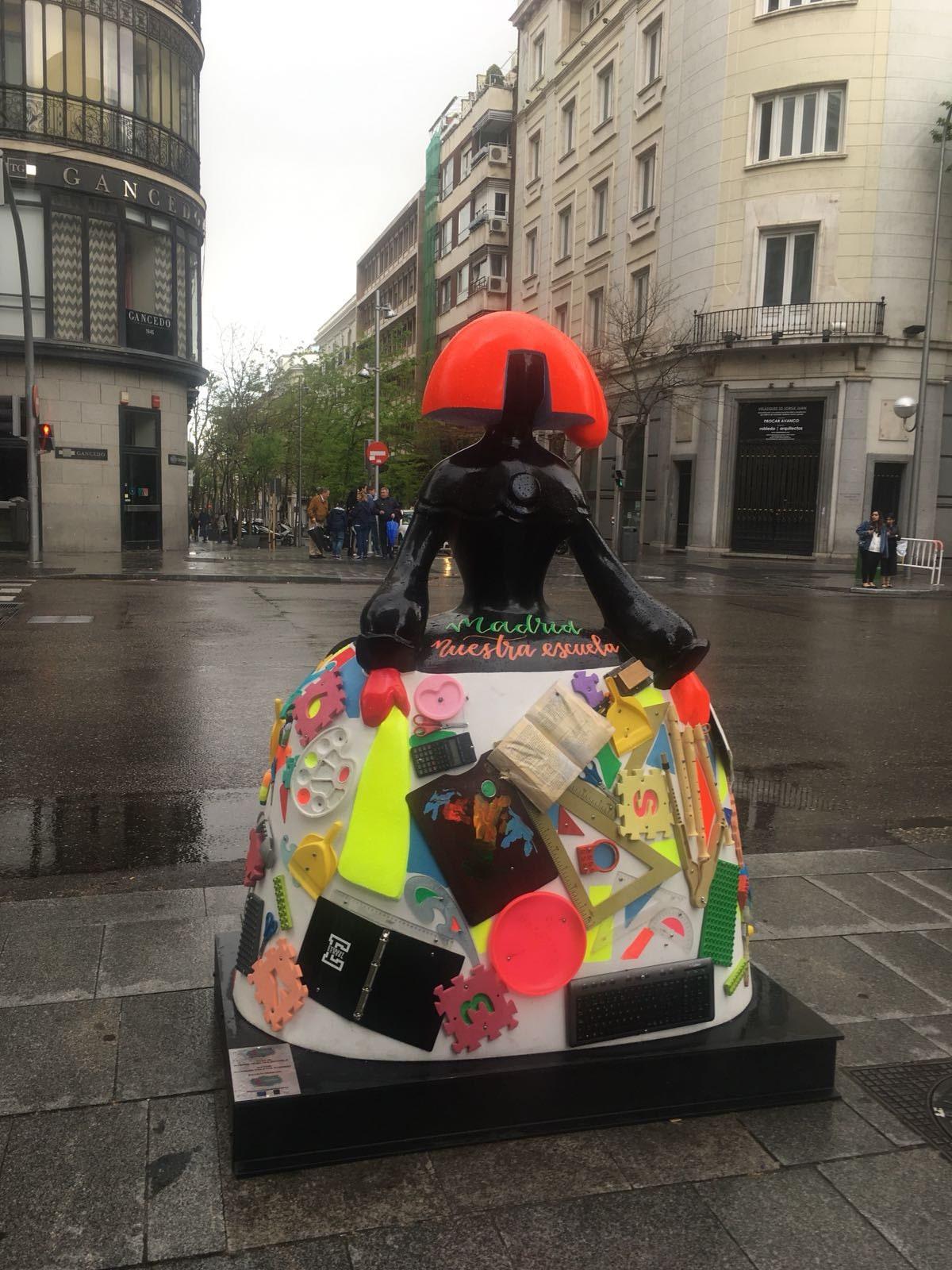 Menina Madrid Colegio Everest