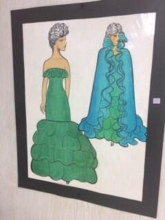 Letizia Fuhr Fashion Sketch