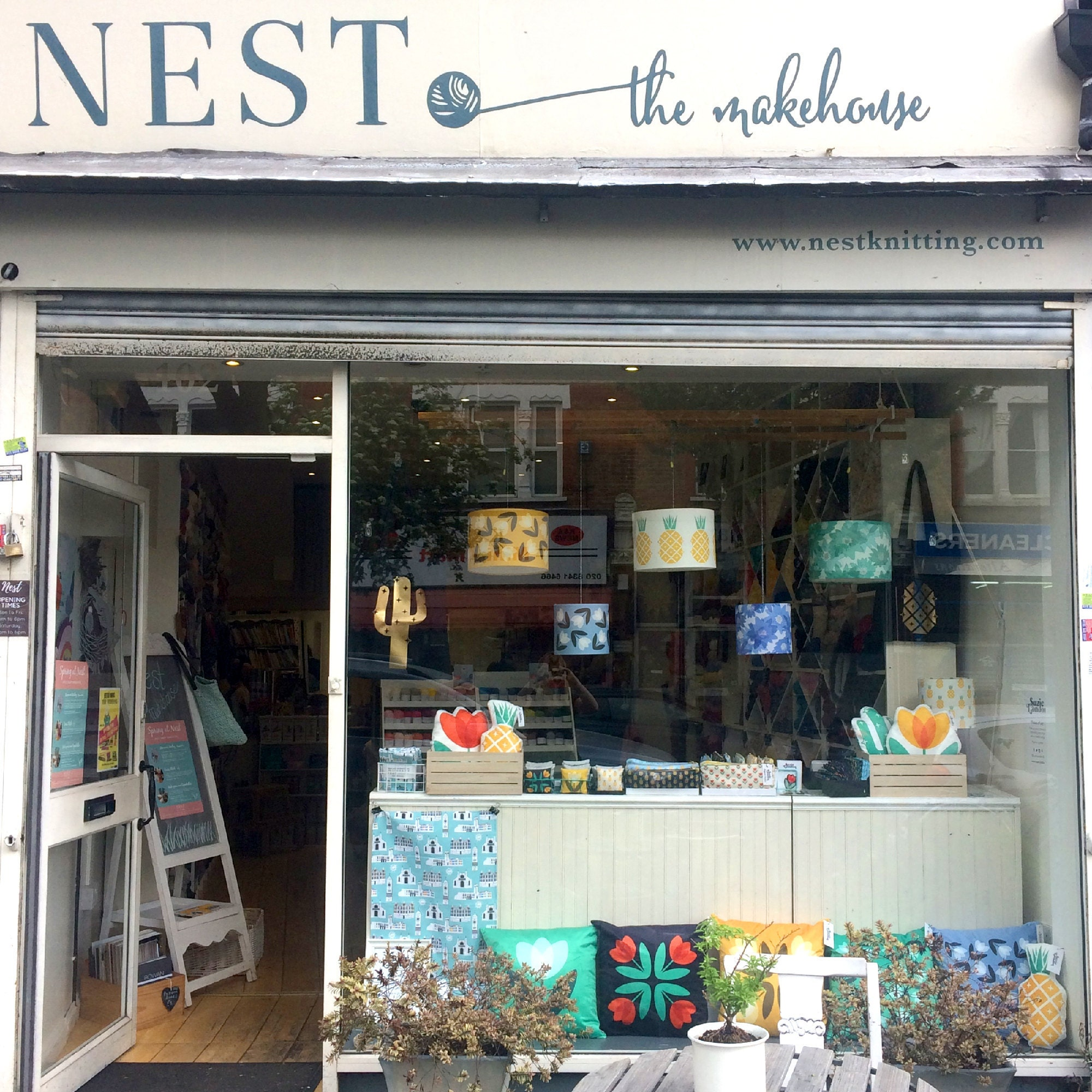 Suzie London pop up shop at Nest in Crouch End