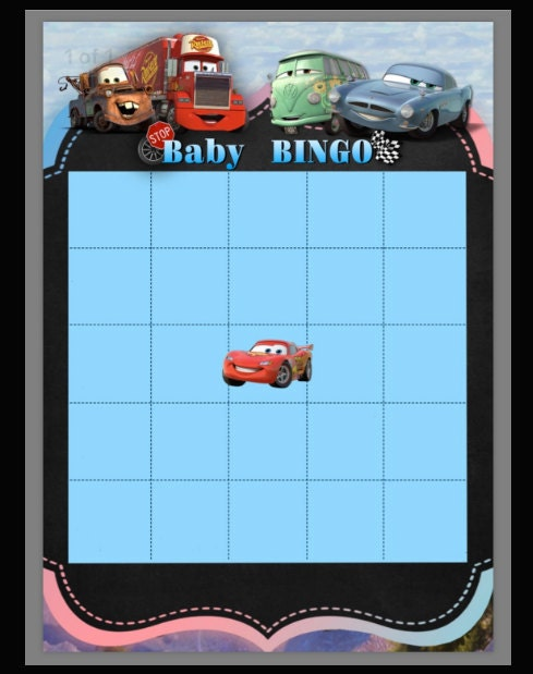 Baby, bingo, game, babyshower