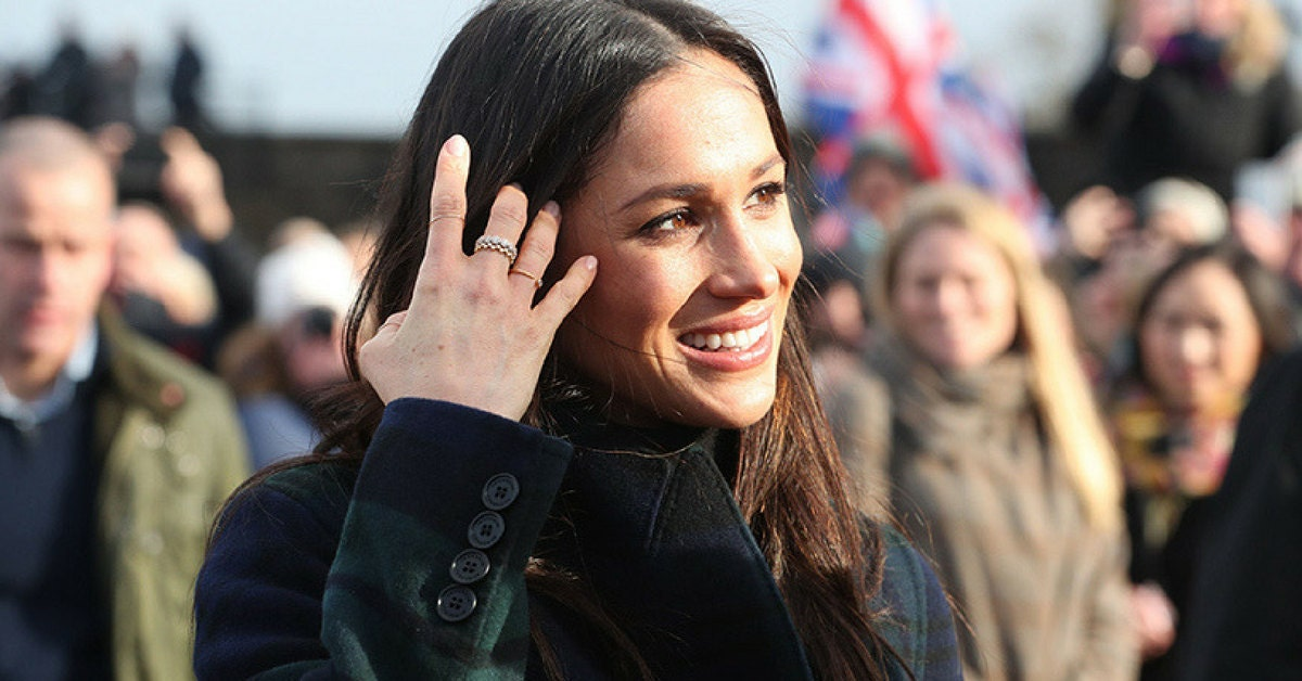 Meghan Markle Gold Stacking Rings